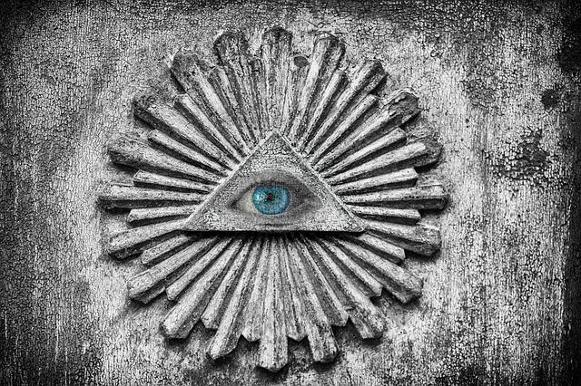 konspirační znak ilumináti