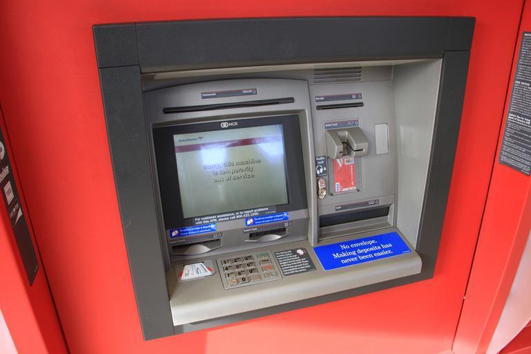 bankomat foto