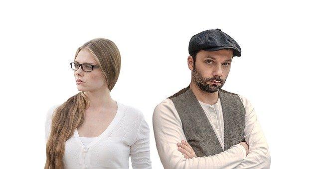 odmítání vzájemné komunikace po hádce